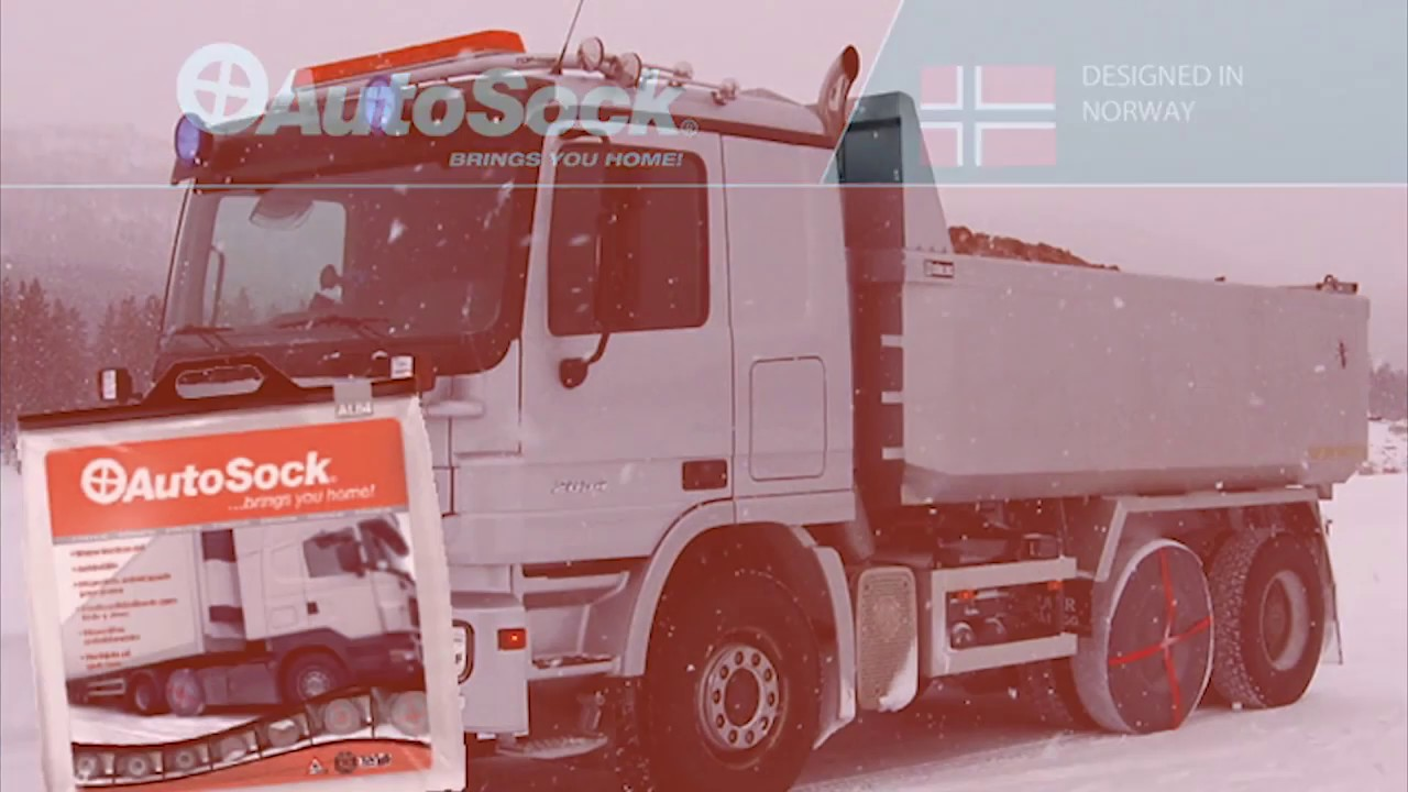 AutoSock - The Chain Alternative - on Trucks, Vans, and Commercial Vehicles