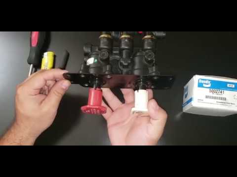 HOW TO FIX  DASH VALVE MV-3 REBUILT DASH VALVE