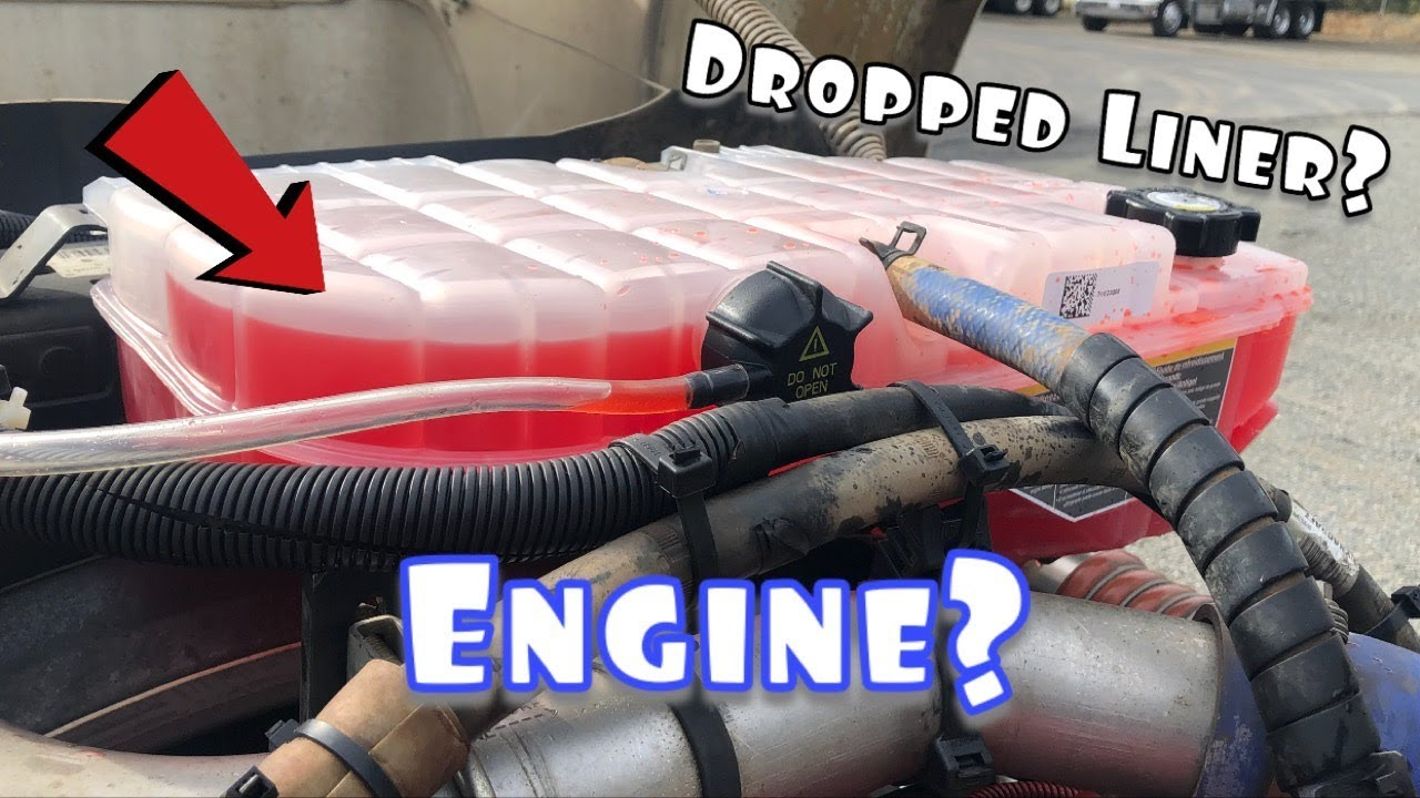 Cummins ISX - OverFlow Full? Spitting out Coolant?