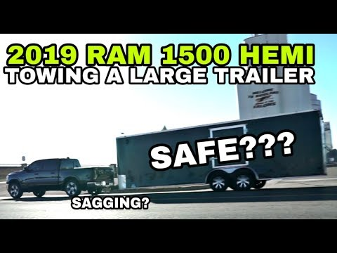 Towing Big Trailers with a 1/2 Ton Pickup. Owner's Experience!