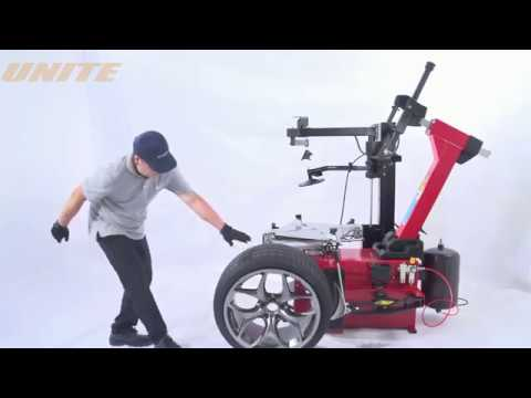 UNITE U237A Semi-automatic Tilt Back Tower Motorcycle & Automotive Tire Changer