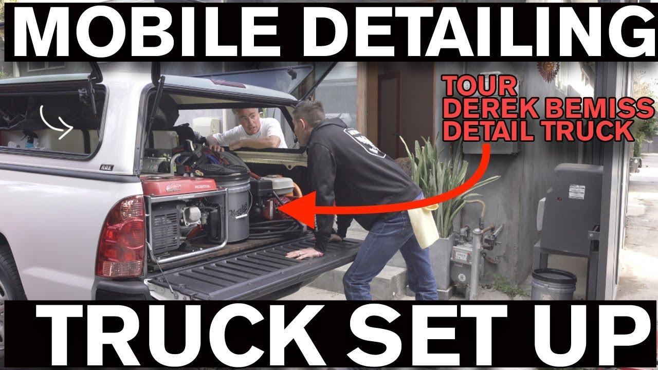Start a Mobile Detailing Business: Truck Set Up
