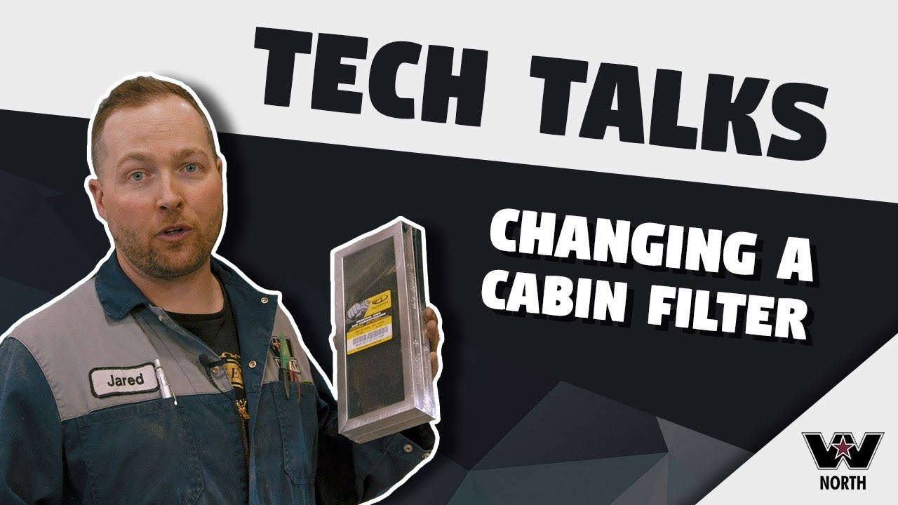 Western Star North Tech Talks - Changing a Cabin Filter!