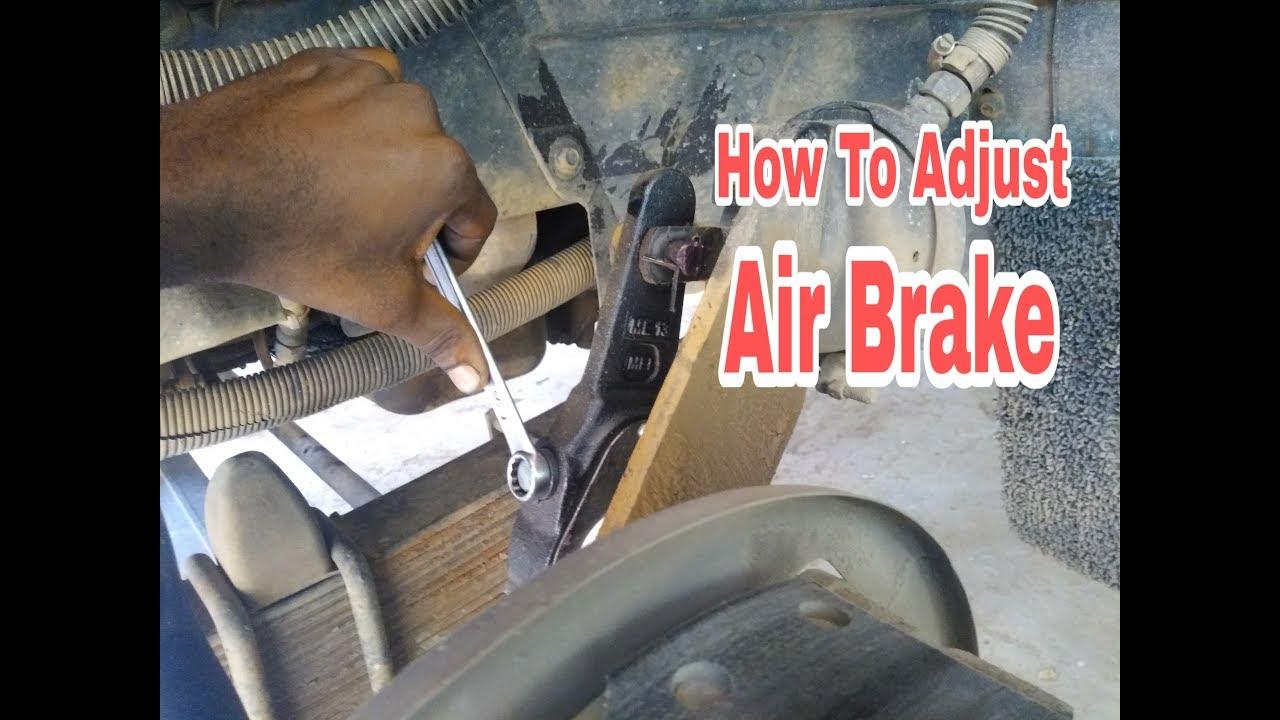 Adjusting air brakes l How to Adjust air brake Adjuster  Air brake brake setting l Malayalam