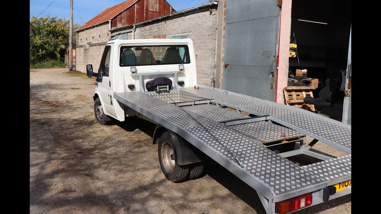 TRANSIT MOT FAIL MISERY. RECOVERY TRUCK REPAIRS