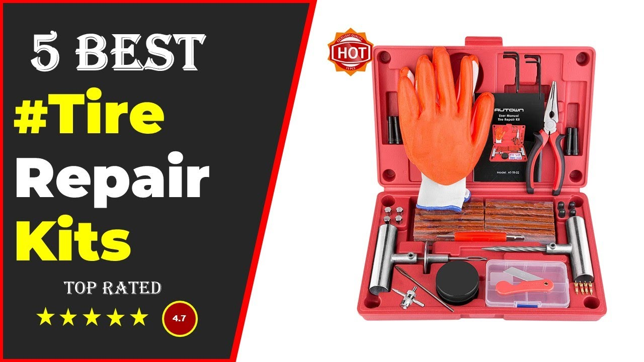 ✅ Top 5: Best Tire Repair Kits 2020 [Tested & Reviewed]