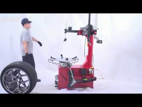 UNITE U2092A Semi-automatic Swing Arm Motorcycle & Automotive Tire Changer
