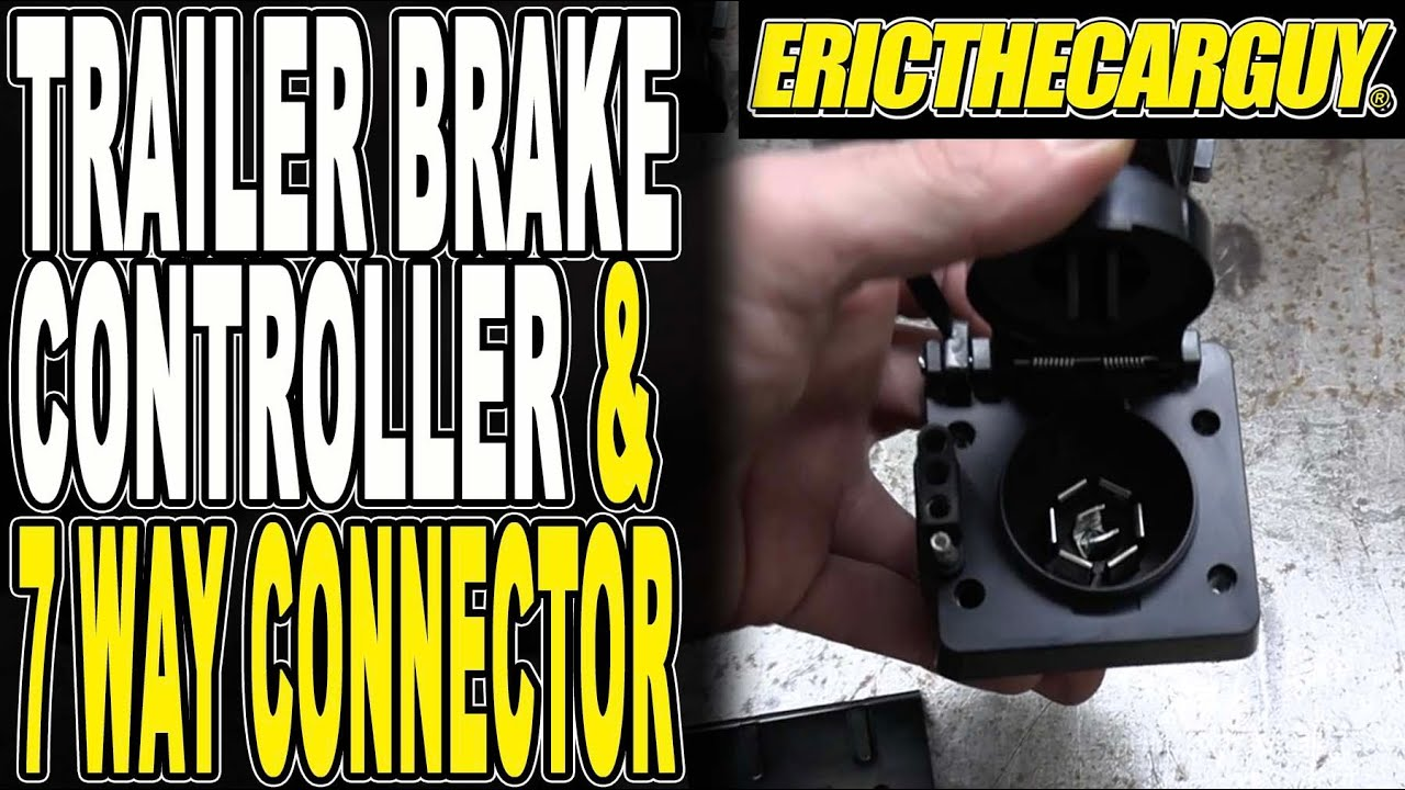 How To Install and Connect a Trailer Brake Controller