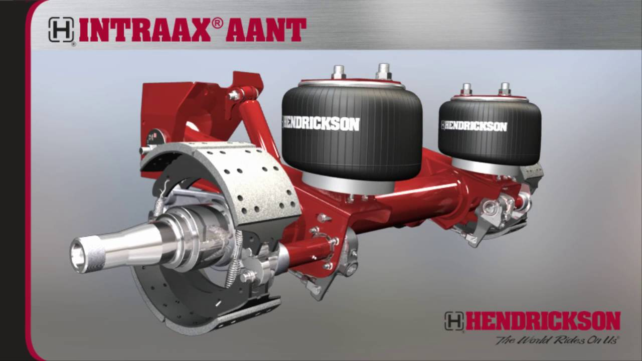 INTRAAX® AANT – Integrated Trailer Air Suspension