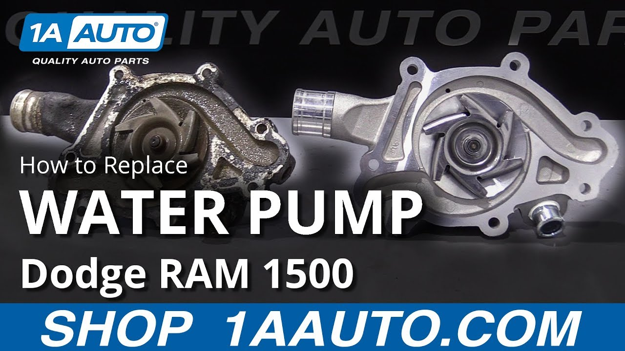 How to Replace Water Pump 94-02 Dodge RAM 1500