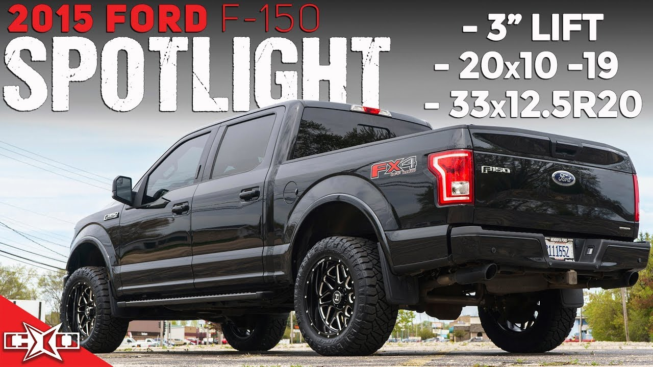 """2015 F-150 SIMPLE Build! 3"""" Lift, 20x10's, AND 33's!"""