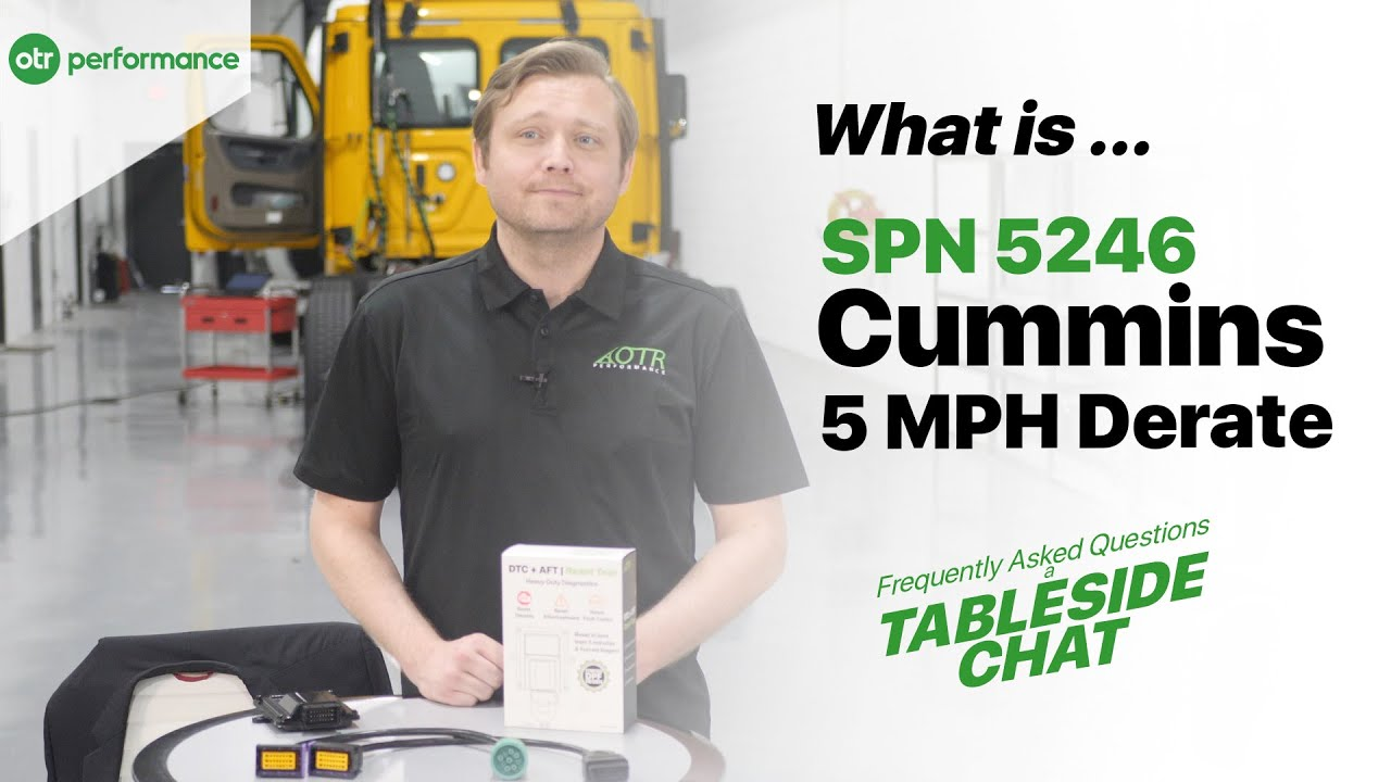 How to fix Cummins 5mph derate and what is it?