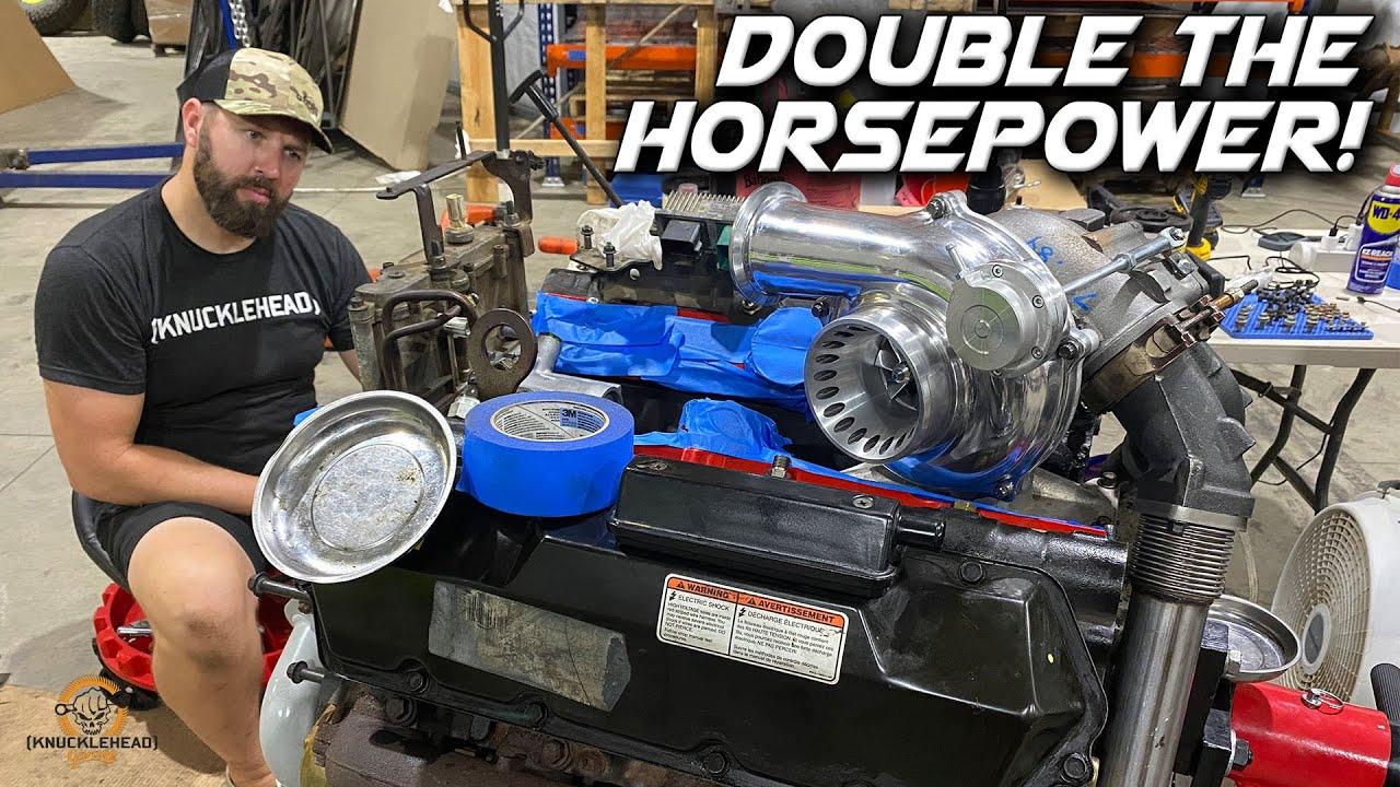 500HP 7.3 Powerstroke Build - Project Towverlander Pt1 Knucklehead Garage