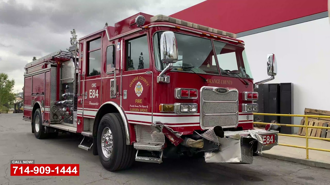 Firetruck Collision Repair
