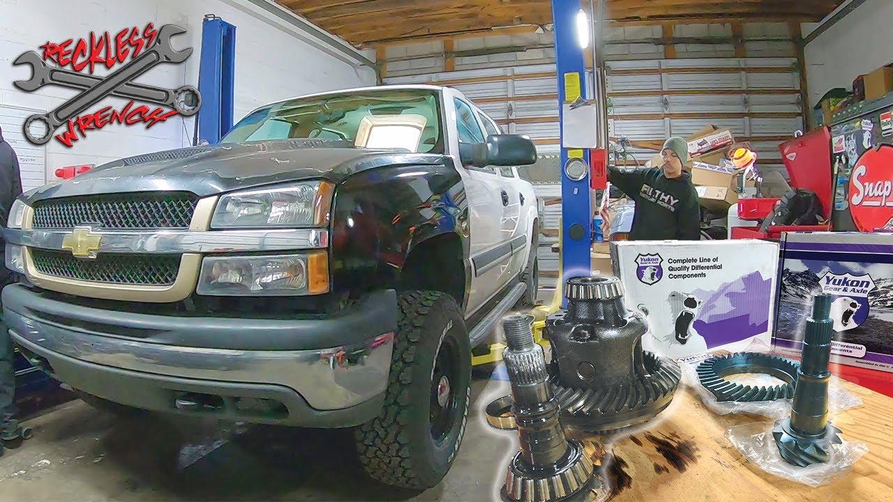"DIY Gear Swap - GM/AAM 9.5"" Axle - Reckless Wrench Garage"