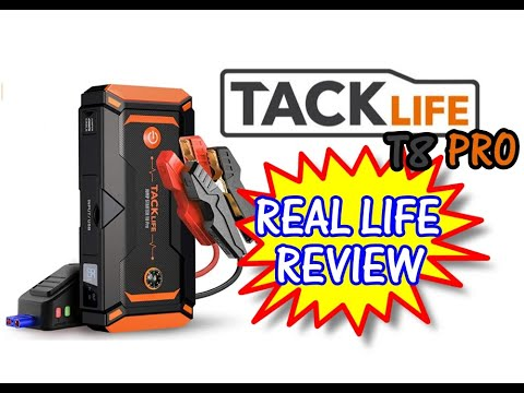 ⭐ TACKLIFE T8 PRO Battery Jumper - True Review - Will It start our 7.0 Gas Engine ?