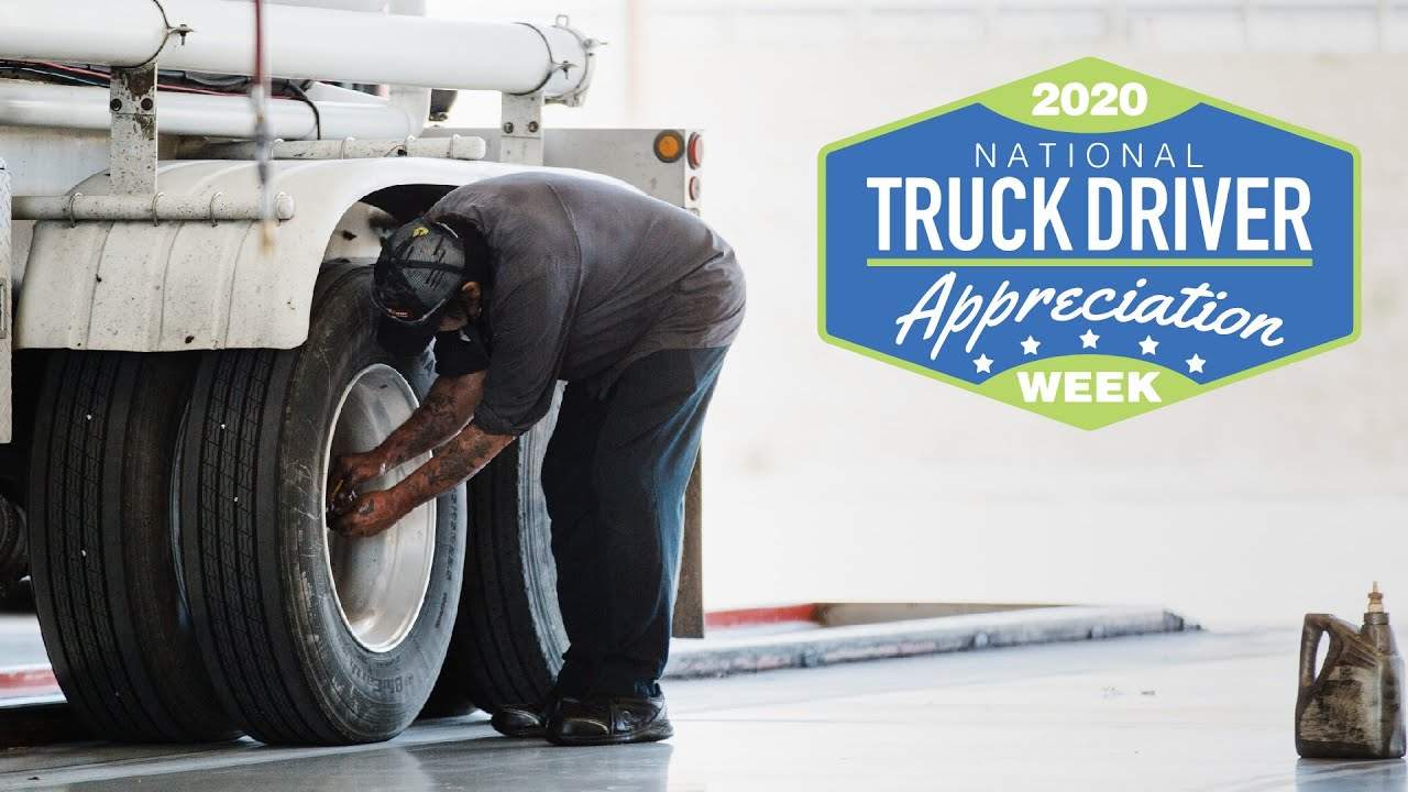 LubeZone Thanks You   National Truck Driver Appreciation Week 2020