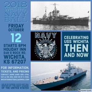 2018 Navy Ball in Wichita
