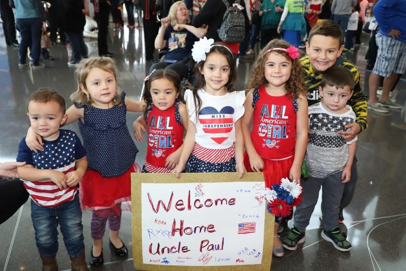 Kansas Honor Flight Heroes Return Home