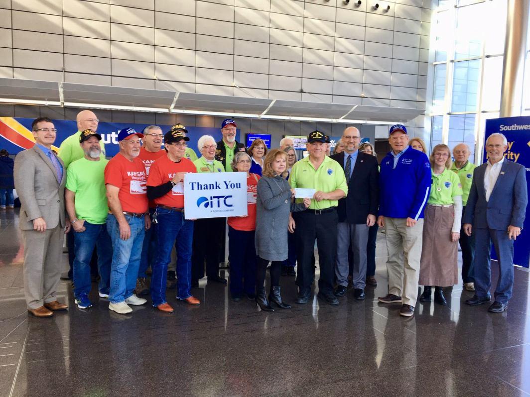 Kansas Honor Flight ITC Donation