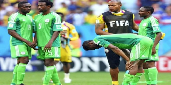 nigeria lose to south africa