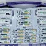 「充電池 EB-BX7028/EBL」レビュー ~2800mAhの大容量で格安の充電池セット~