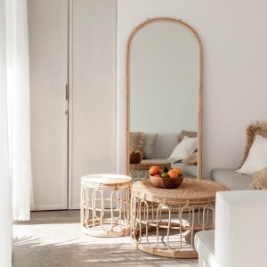 Arched Floor Mirror