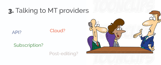 Talking-to-MT-Providers