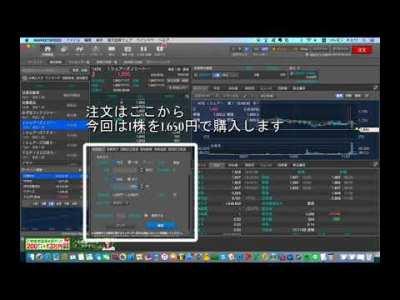 【楽天証券】MARKETSPEED for Mac 株の買い方