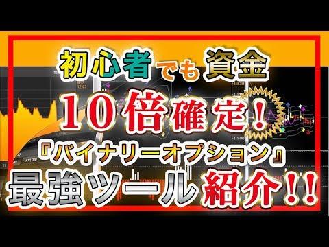 【副業で稼ぐ】初心者でも資金10倍確定!?バイナリーの最強ツールを紹介!!