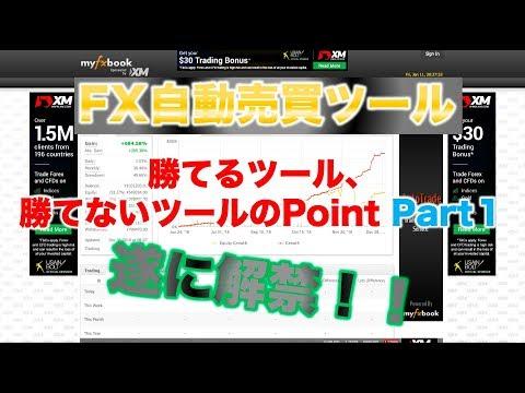 【FX自動売買ツール/詐欺ツール】FX自動売買ツール・勝てるツールと負けるツールのPoint Part1