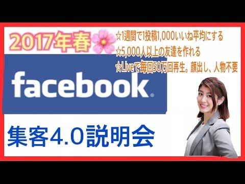 Facebook 集客 5000人 1000いいね