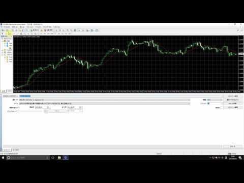 楽天証券MT4における「一本勝ち」バックテスト