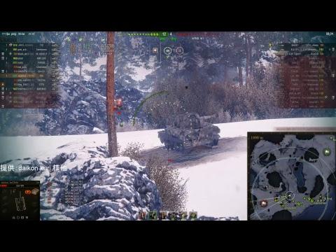 【World of Tanks(PC Asia)】フリー経験値を稼ぐ2【日本茶のゲーム】