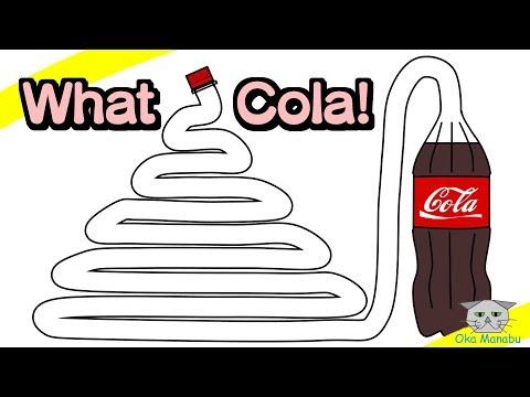 【ジュース アニメ】こんなコーラはイヤだ!【Anime for kids】What Cola!