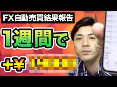 FX初心者必見!1週間で+◯◯万円![自動売買]