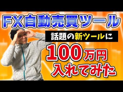 【FX自動売買】年末年始回しっぱなしの新ツールに100万円入れて見た結果….(特徴と実績)