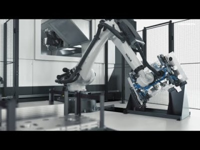 自動化システム:DMU 200 Gantry with Robot
