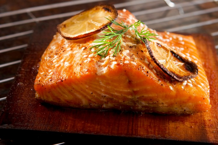 cedar-plank-grilled-salmon-orange