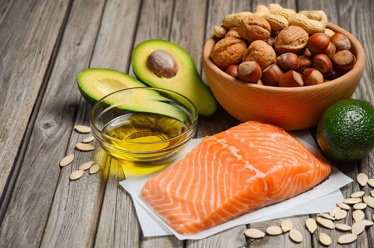 54578553 - selection of healthy fat sources.