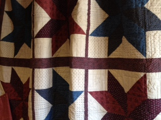 Close-up, Quilts of Valor, Jubilee Lodge.