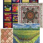 """Collage of quilts from the """"Why Quilts Matter"""" homepage."""
