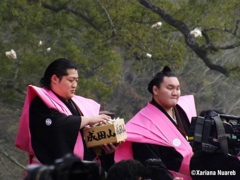 Setsubun en Naritasan