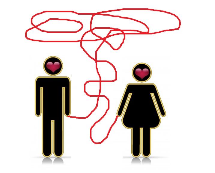 La Leyenda dice que todos los seres humanos desde que nacen, están unidos por un hilo de color rojo, atados al dedo meñique con su pareja.