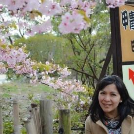 """Sakura"" Castillo de Odawara (jardín exterior), Kanagawa. Fotografía: ラモス カティア (Ramos Katia)"