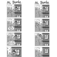 La tira cómica del hincha de fútbol (AL BORDE)