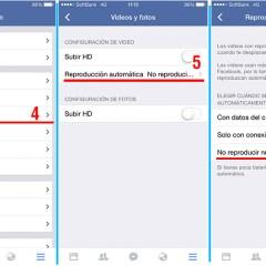 Desactiva la reproducción automática de videos en Facebook