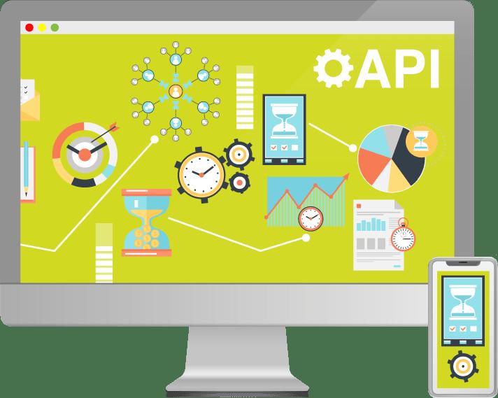 API screen Kantoor260