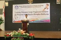 Sambutan Kepala Kantor Bahasa Kepulauan Bangka Belitung Drs. Hidayatul Astar, M.Hum.