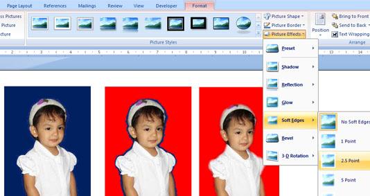 edit foto dengan ms word